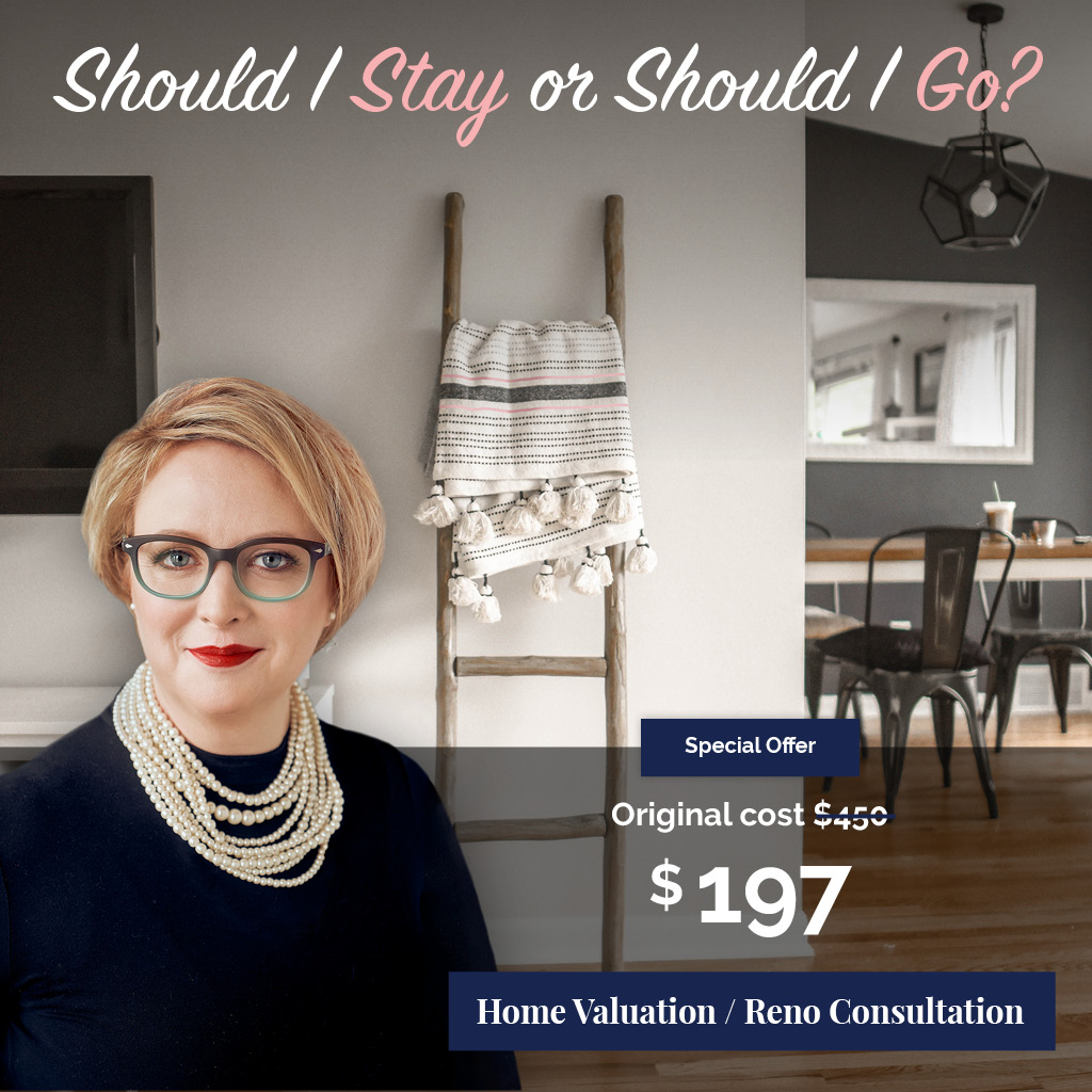 Should We Stay or Go promo? Get a home consultation originally priced at $450, now only $197